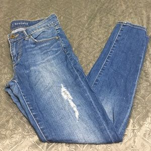 Articles of society skinny distressed jeans